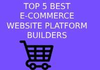 best ecommerce website platform builders
