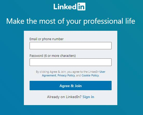 promote your business in linkedin
