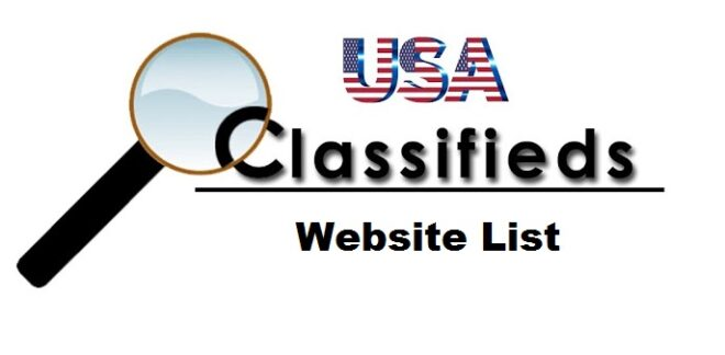 Free Classified Sites List in USA