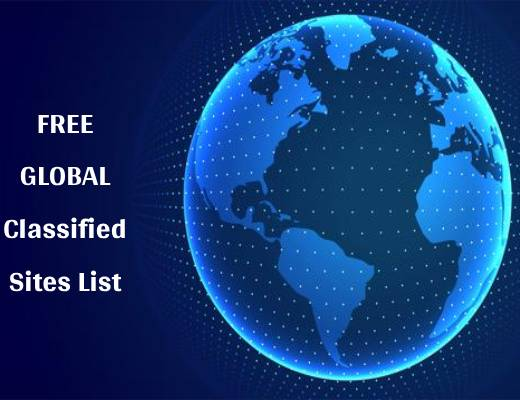 Free Global Classified Ads Sites List (Instant Indexing) 2021 & 2022